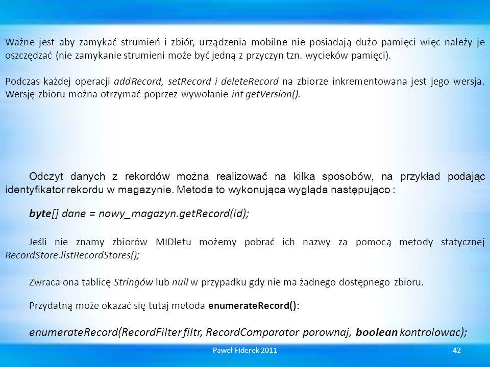 byte[] dane = nowy_magazyn.getRecord(id);